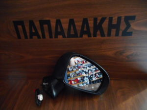 Toyota Verso S 2011-2015 δεξιός καθρέπτης ηλεκτρικός μαύρος 7 καλώδια