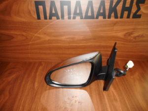 Toyota Yaris 2014-2017 αριστερός καθρέπτης ηλεκτρικά ανακλινόμενος νίκελ 9 καλώδια