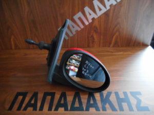 Citroen C1/Peugeot 107/Toyota Aygo 2006-2014 μηχανικός καθρέπτης δεξιός κόκκινος