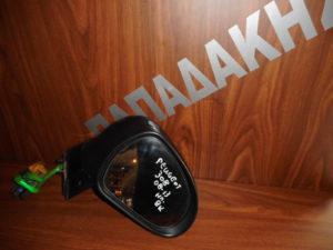 Peugeot 308 2008-2013 ηλεκτρικός καθρέπτης δεξιός μαύρος 8 καλώδια