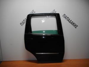Lancia Musa/Fiat Idea 2003-2012 πόρτα πίσω δεξιά μαύρη