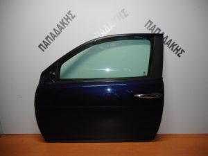 Lancia Ypsilon 2003-2011 πόρτα αριστερή δύθυρη μπλε σκούρο