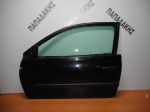 Renault Megane 2002-2008 πόρτα αριστερή δύθυρη μαύρη