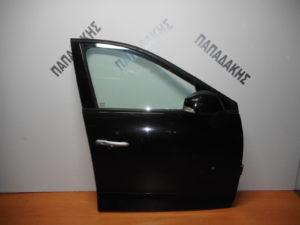 Renault Scenic 2009-2016 πόρτα εμπρός δεξιά μαύρη