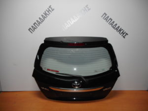 Toyota Yaris 2011-2017 πόρτα οπίσθια μαύρη