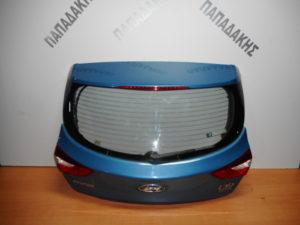 Hyundai i30 5θυρο 2012-2017 οπίσθια πόρτα 3η/5η (πορτ-μπαγκάζ) μπλε