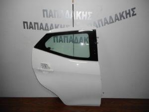 Toyota Aygo 2014-2018 πίσω πόρτα δεξιά άσπρη