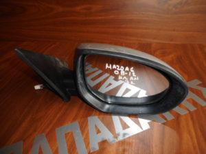 Mazda 6 2008-2012 ηλεκτρικά ανακλινόμενος καθρέπτης δεξιός ασημί 7 καλώδια