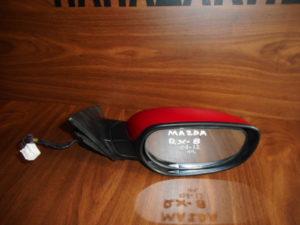 Mazda RX8 2003-2012 ηλεκτρικός καθρέπτης δεξιός κόκκινος