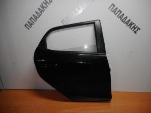 Mazda 2 2007-2014 πόρτα πίσω δεξιά μαύρη