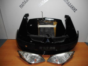 Μούρη κομπλέ Mitsubishi Colt 2004-2008 μαύρη 3θυρο