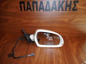 Audi Q3 2011-2019 ηλεκτρικά ανακλινόμενος καθρέπτης δεξιός άσπρος 12 καλώδια