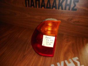Bmw X5 E53 2000-2004 φανάρι πίσω αριστερό φλας πορτοκαλί