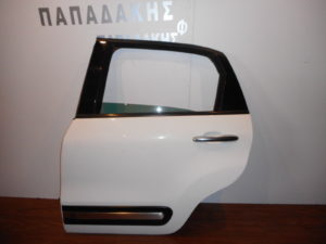 Fiat 500L 2012-2019 πόρτα πίσω αριστερή άσπρη