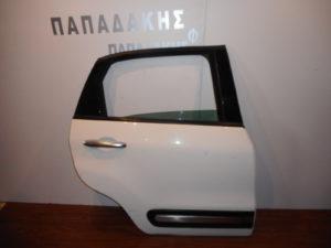 Fiat 500L 2012-2019 πόρτα πίσω δεξιά άσπρη