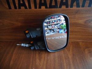 Fiat Doblo 2001-2010 μηχανικός καθρέπτης δεξιός ασημί