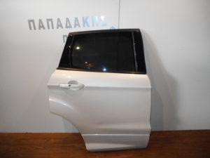 Ford Kuga 2012-2019 πόρτα πίσω δεξιά άσπρη