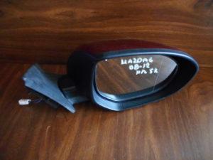 Mazda 6 2008-2012 ηλεκτρικός καθρέπτης δεξιός μπορντό 5 καλώδια