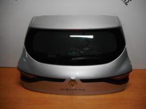 Renault Megane 5θυρο 2016-2020 οπίσθια πόρτα ασημί