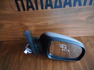 Nissan Note 2006-2013 ηλεκτρικός καθρέπτης δεξιός ασημί 5 καλώδια