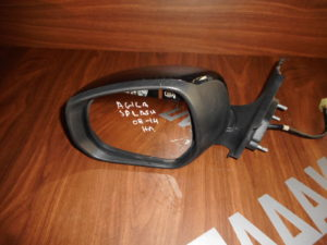 Opel Agila/Suzuki Splash 2008-2014 ηλεκτρικός καθρέπτης αριστερός μαύρος