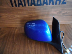 Suzuki SX-4/Fiat Sedici 2007-2014 ηλεκτρικός καθρέπτης δεξιός μπλε (όχι τζάμι)