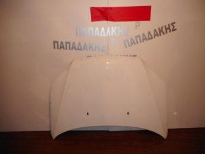 Chevrolet Aveo 2008-2012 εμπρός καπό άσπρο