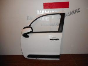 Citroen C3 Picasso 2009-2017 πόρτα εμπρός αριστερή άσπρη