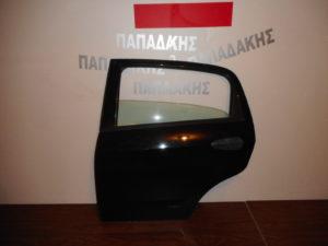 Fiat Grande Punto 2005-2012 πόρτα πίσω αριστερή μαύρη