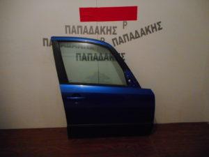 Fiat Sedici 2007-2014 πόρτα εμπρός δεξιά μπλε