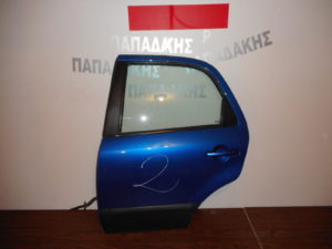 Fiat Sedici 2007-2014 πόρτα πίσω αριστερή μπλε