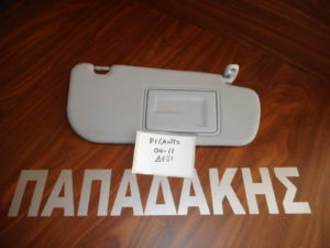 Kia Picanto 2004-2011 αλεξήλιο δεξιό