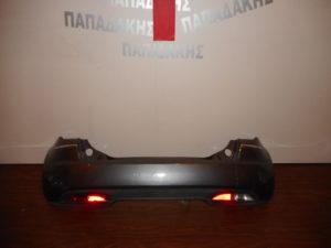 Lancia Musa 2008-2012 πίσω προφυλακτήρας ασημί σκούρο