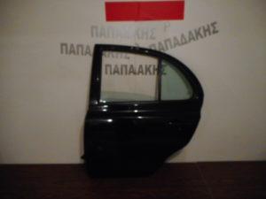 Nissan Micra K12 2003-2010 πόρτα πίσω αριστερή μαύρη