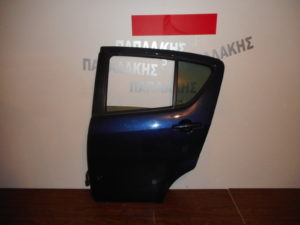Opel Agila/Suzuki Splash 2008-2014 πόρτα πίσω αριστερή μπλε σκούρο