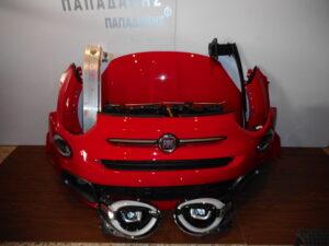 Fiat 500X Sport 2019-> μούρη κομπλέ κόκκινη