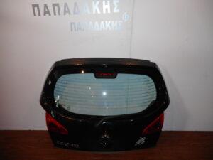 Mitsubishi Colt 2004-2008 πόρτα οπίσθια (5η) 3πορτο μαύρη