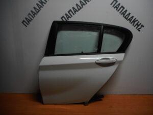 Bmw S1 F20/21 2011-2019 πίσω αριστερή πόρτα άσπρη
