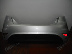 Ford Fiesta 2008-2017 πίσω προφυλακτήρας ασημί με αισθητήρες