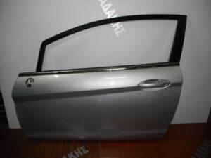 Ford Fiesta 2008-2017 πόρτα αριστερή δύθυρη ασημί