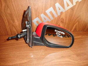 Hyundai i10 2011-2014 μηχανικός καθρέπτης δεξιός κόκκινος
