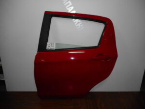 Toyota Yaris 2014-2020 πίσω αριστερή πόρτα κόκκινη