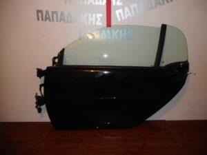 Smart ForTwo w451 2007-2014 πόρτα αριστερή δύθυρη μαύρη