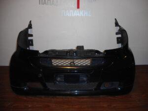 Smart ForTwo w451 2007-2014 σετ πλαστικά εμπρός μαύρο